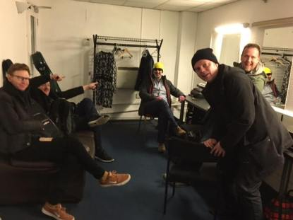 bristol dressing room